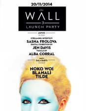 the wall#3 launch party