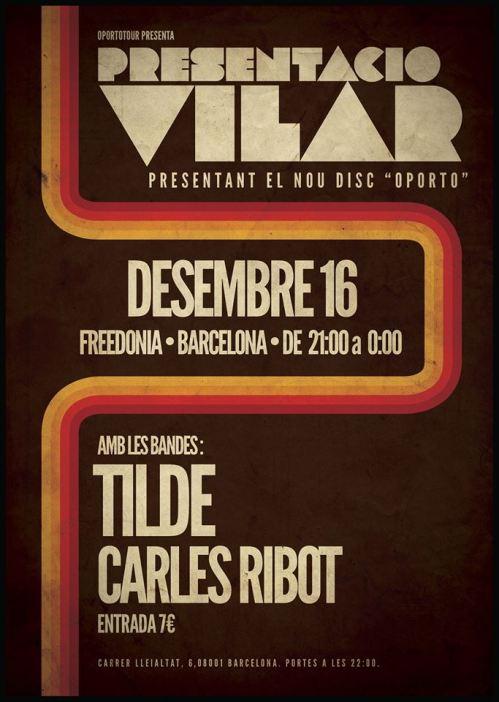 Cartel Tilde + Vilar Freedonia