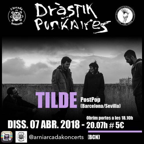 Cartel Tilde Drástik Punkaires